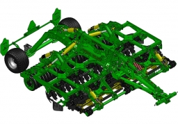 KRONOS 4 Compact disc harrow with knife rollers