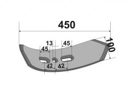 Duble Chisel plow sweep Kockerling Vario 5.7 Veles Agro