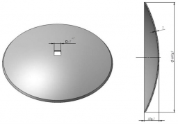 Disc harrow Gregoire Besson smooth