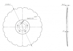 Disk Kverneland Accord