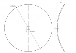 Smooth disk Quivogne
