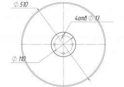 Plain disk Pottinger