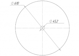 Plain disk Sunflower (original)